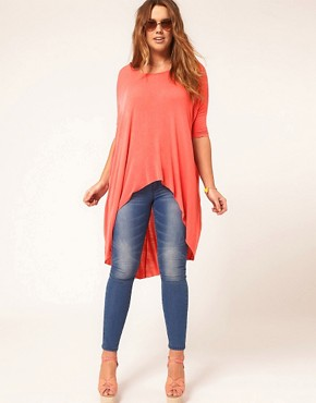Image 4 ofASOS CURVE Exclusive Jersey Dip Back