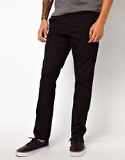 Chinos de corte sper slim con acabado en sarga Sid de Carhartt
