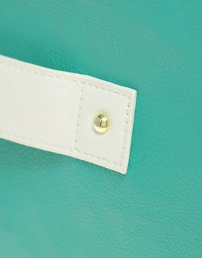 Image 2 ofASOS Hand Slot Through Clutch