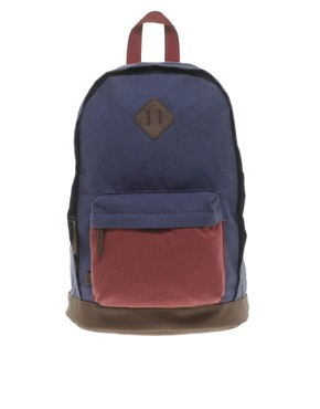 Image 1 ofASOS Backpack with Contrast Base