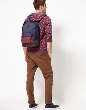 Image 3 ofASOS Backpack with Contrast Base