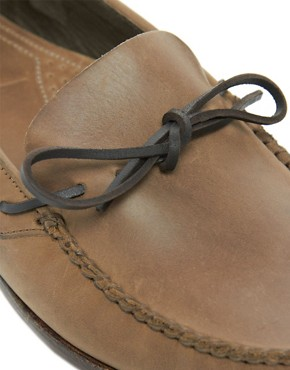 Image 2 ofH By Hudson Campo Tie-Front Loafers
