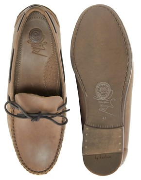 Image 3 ofH By Hudson Campo Tie-Front Loafers