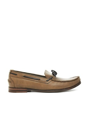 Image 4 ofH By Hudson Campo Tie-Front Loafers
