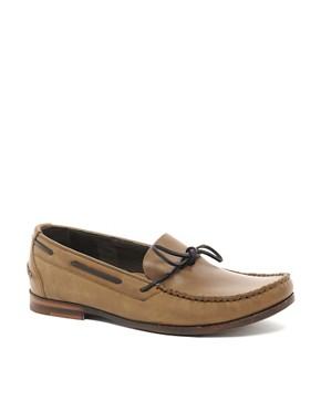 Image 1 ofH By Hudson Campo Tie-Front Loafers