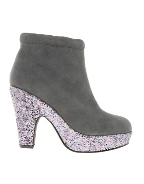 Image 4 ofASOS ACCOLADE Suede Platform Ankle Boots