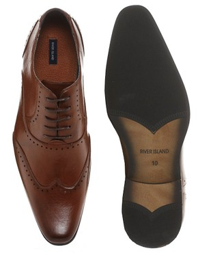 Image 3 ofRiver Island Formal Brogues