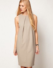 ASOS Sleeveless Dress In Cocoon Shape