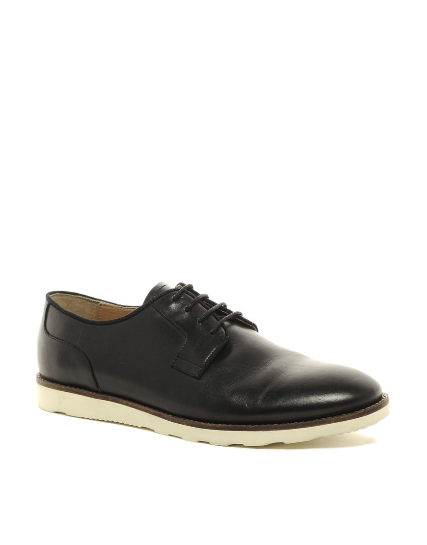 Image 1 of ASOS Derby Shoes With Wedge Sole