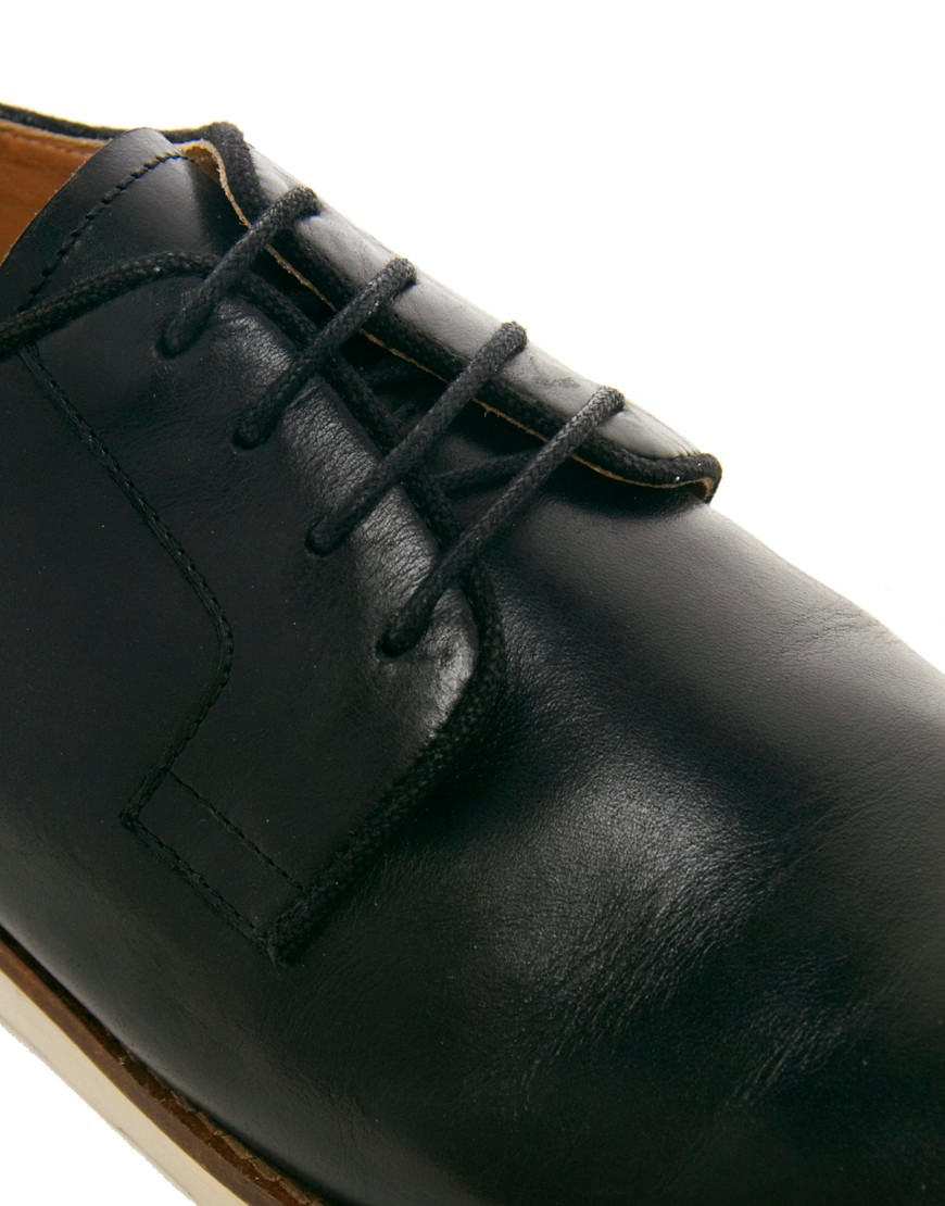 Image 2 of ASOS Derby Shoes With Wedge Sole
