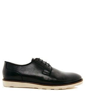Image 4 ofASOS Derby Shoes With Wedge Sole