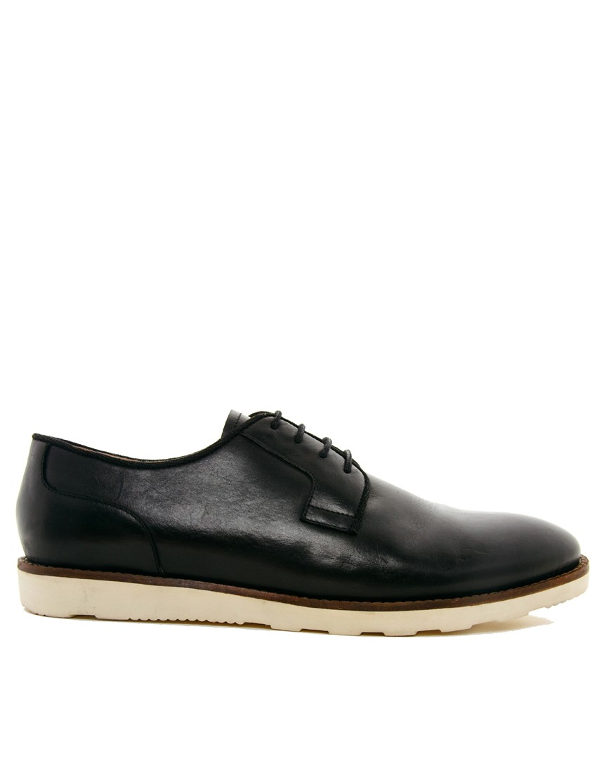 Image 4 of ASOS Derby Shoes With Wedge Sole