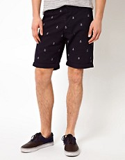 Jack &amp; Jones Shorts With Anchor Print
