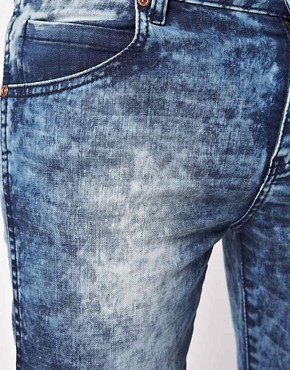 Image 3 ofDr Denim Exclusive Snap Skinny Jeans