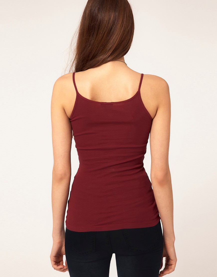 Image 2 of ASOS Cami Top in Rib
