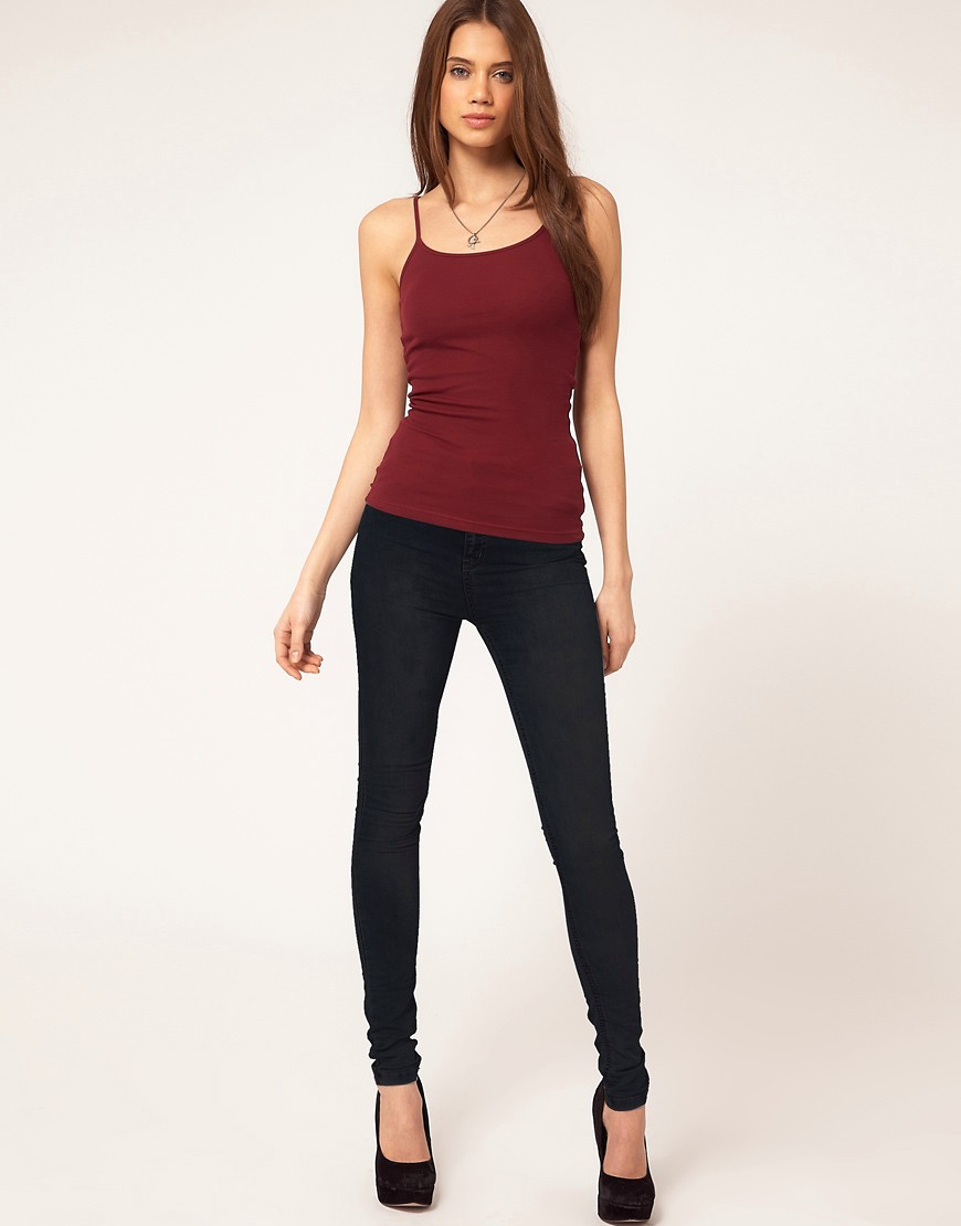 Image 4 of ASOS Cami Top in Rib