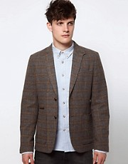 Selected Check Blazer