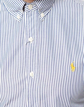 Image 3 ofPolo Ralph Lauren Slim Fit Bengal Stripe Shirt