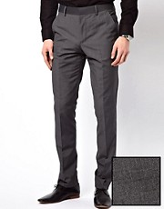 French Connection Suit Trouser Cocteau Plain