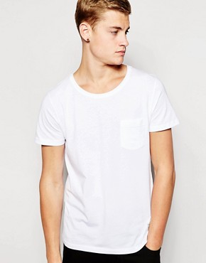 Jack & Jones Crew Neck T-Shirt with Pocket