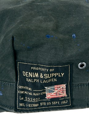Image 2 ofDenim &amp; Supply by Ralph Lauren Army Cap