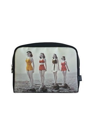 Image 1 ofTender Love &amp; Carry Retro Swimmers Make-Up Bag