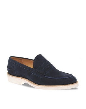 Image 1 ofTrickers Exclusive for ASOS James Penny Loafers