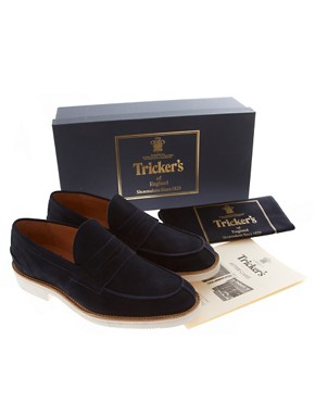 Image 4 ofTrickers Exclusive for ASOS James Penny Loafers