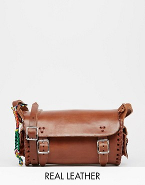Hiptipico Taco Hand Crafted Leather Across Body Bag