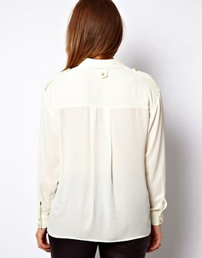 Image 2 ofASOS CURVE Shirt With Utility Button
