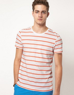 Image 1 ofASOS Stripe T-Shirt