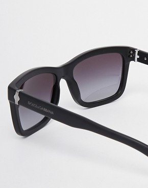 Image 4 ofDolce &amp; Gabbana Wayfarer Sunglasses