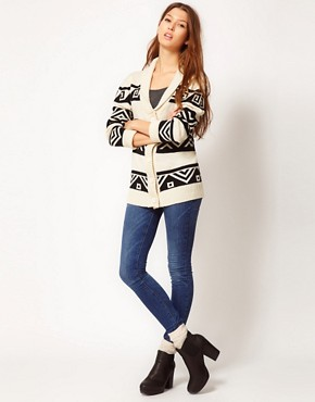 Image 4 ofPretty Vacant Aztec Cardigan