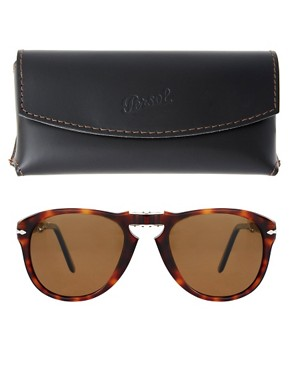 Image 2 ofPersol Aviator Sunglasses Foldable