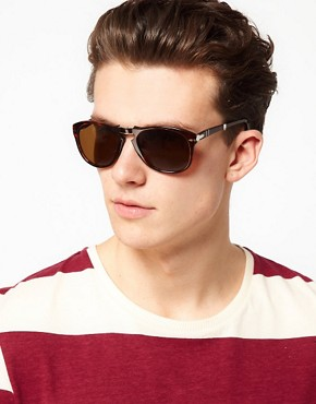 Image 3 ofPersol Aviator Sunglasses Foldable