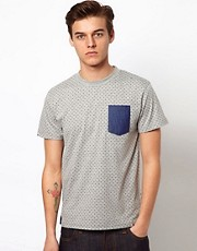 Bellfield Double Faced Polka Dot T-Shirt