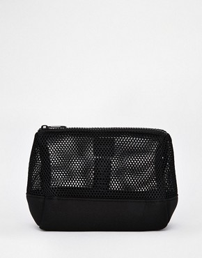 ASOS Mesh and Scuba Make Up Bag