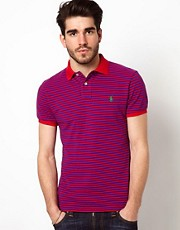 Polo Ralph Lauren Polo in Slim Fit Stripe