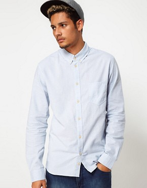 Image 1 ofAdidas Originals Chambray Shirt Horizontal Stripe