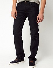 Diesel - Larkee 0806X - Jeans dritti con lavaggio scuro