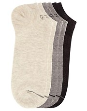 Calvin Klein 3-Pack Trainer Liner