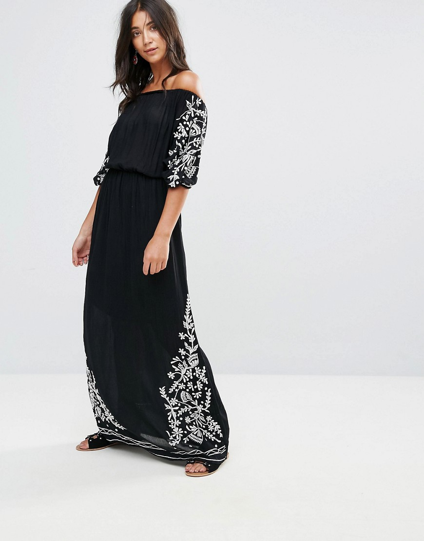 Glamorous Off Shoulder Maxi Dress