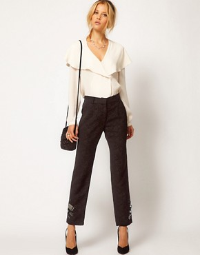 Image 1 ofASOS Premium Jewelled Trousers