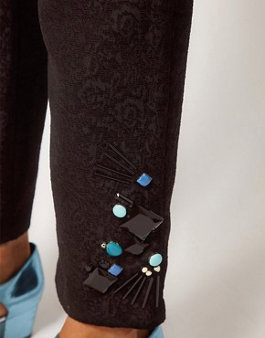 Image 3 ofASOS Premium Jewelled Trousers