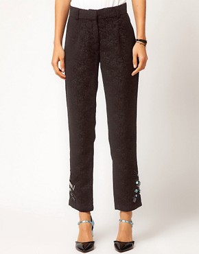 Image 4 ofASOS Premium Jewelled Trousers
