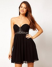 Lipsy Summer Gem Babydoll Dress