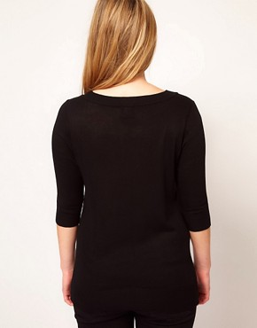 Image 2 ofASOS CURVE Exclusive Je t&#39;aime Jumper