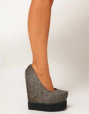 Image 3 ofSenso Exclusive Zaki Platform Wedge Shoes
