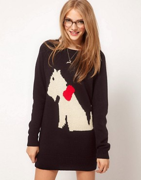 Bild 1 von ASOS  Scotty Dog  Pulloverkleid