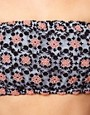 Image 3 ofASOS Bandeau With Floral Embroidery